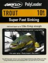 Airflo Polyleader - TROUT 5,4 kg - 10ft. - 3 m Super Fast...