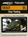 Airflo Polyleader - TROUT 5,4 kg - 5ft. - 1,5 m Floating