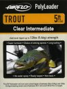 Airflo Polyleader - TROUT 5,4 kg - 5ft. - 1,5 m Intermediate