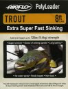 Airflo Polyleader - TROUT 5,4 kg - 8ft. - 2,4 m Extra...