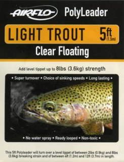 Airflo Polyleader -LIGHT TROUT 3,6kg-