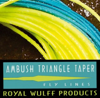 Lee Wulff  Triangle Taper Ambush -schwimmend-