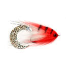 Paolos Wiggle Tail White & Red 6/0