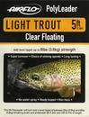 Airflo Polyleader -LIGHT TROUT 3,6kg-  8ft. - 2,4m Floating