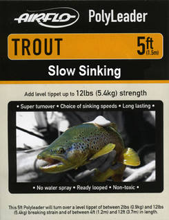 Airflo Polyleader - TROUT 5,4 kg -