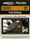 Airflo Polyleader - TROUT 5,4 kg - 8ft. - 2,4 m Fast Sinking