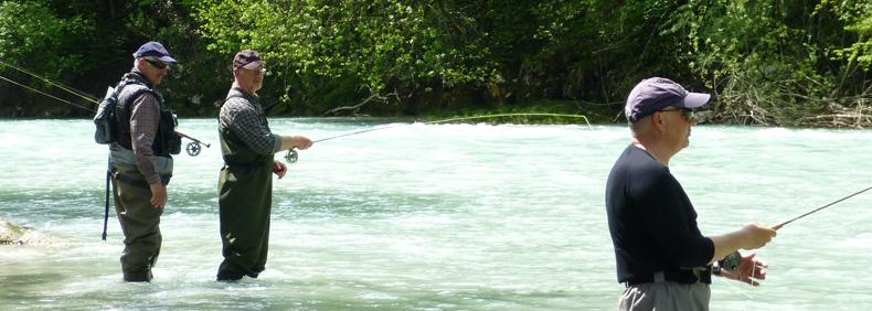 Fliegenfischen Thomas Dürkop, Bayern Woche