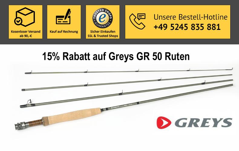 Greys GR50 Ruten zu Sonderpreisen