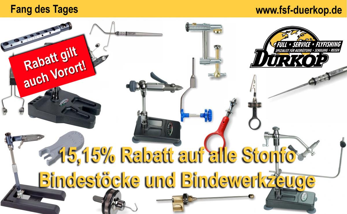 15,15% Rabatt auf Stonfo Bindewerkzeuge und B
