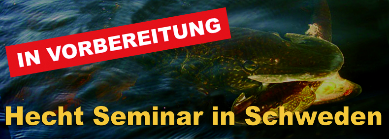 Fliegenfischen Thomas Dürkop Hecht Seminar in Schweden
