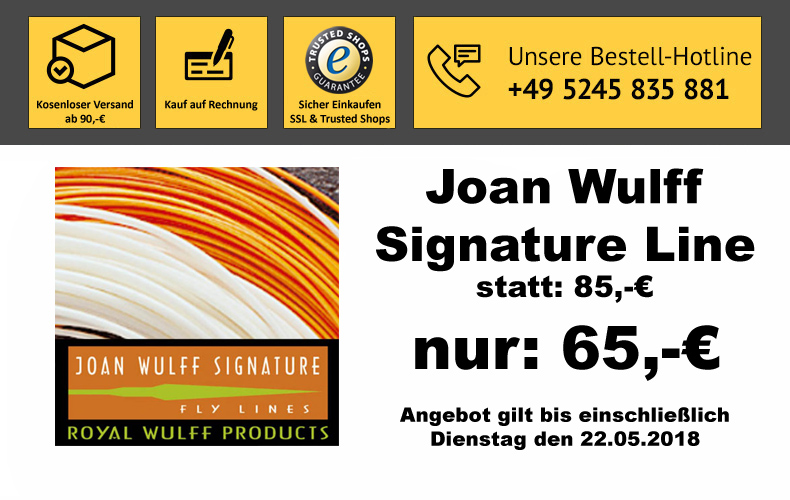 Joan Wulff Signature Fliegenschnur