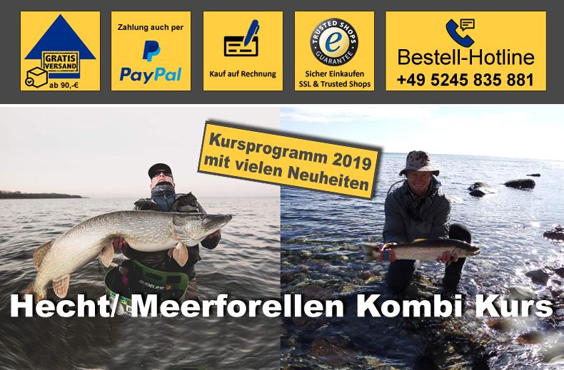 Meerforellen und Hechtseminar in Dänemark